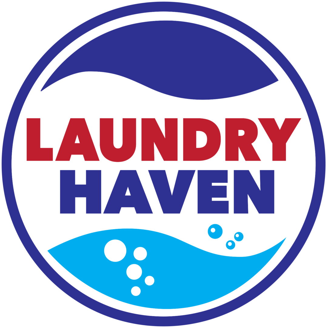 logo for laundry haven laundromat in queens ny